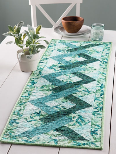 exclusively annies quilt designs tangles table runner pattern Interesting Table Runners Patterns For Quilters Inspirations