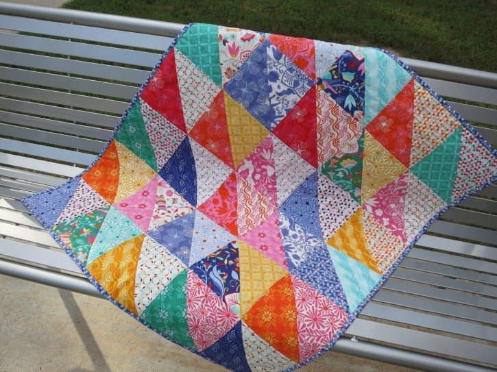 fat eighth frenzy pattern the cottage mama Cool Quilt Patterns Using Fat Eighths Inspirations