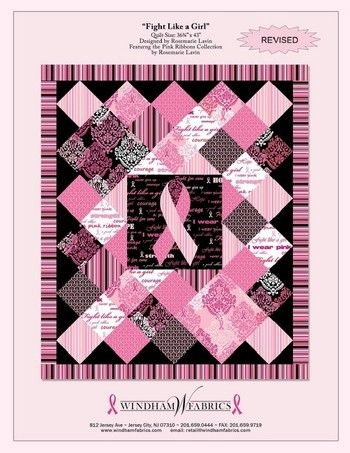 free ouiltpatterns fight like a girl quilt pattern free Unique Pink Ribbon Quilt Pattern Gallery