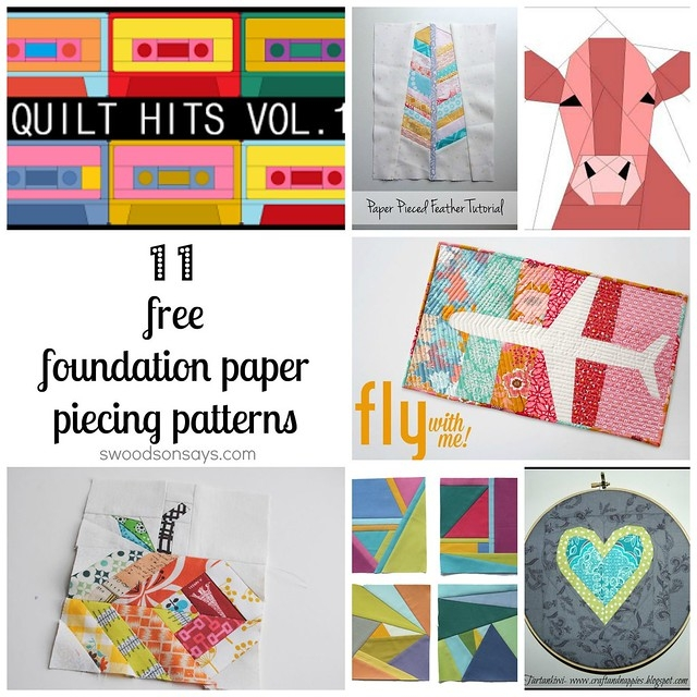 free paper piecing patterns to download and sew Interesting Foundation Pieced Quilt Patterns Inspirations