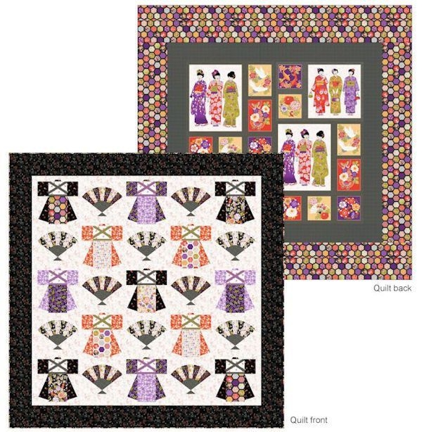 free pattern download an unusual and lovely japanese quilt Interesting Japanese Quilts Patterns Inspirations