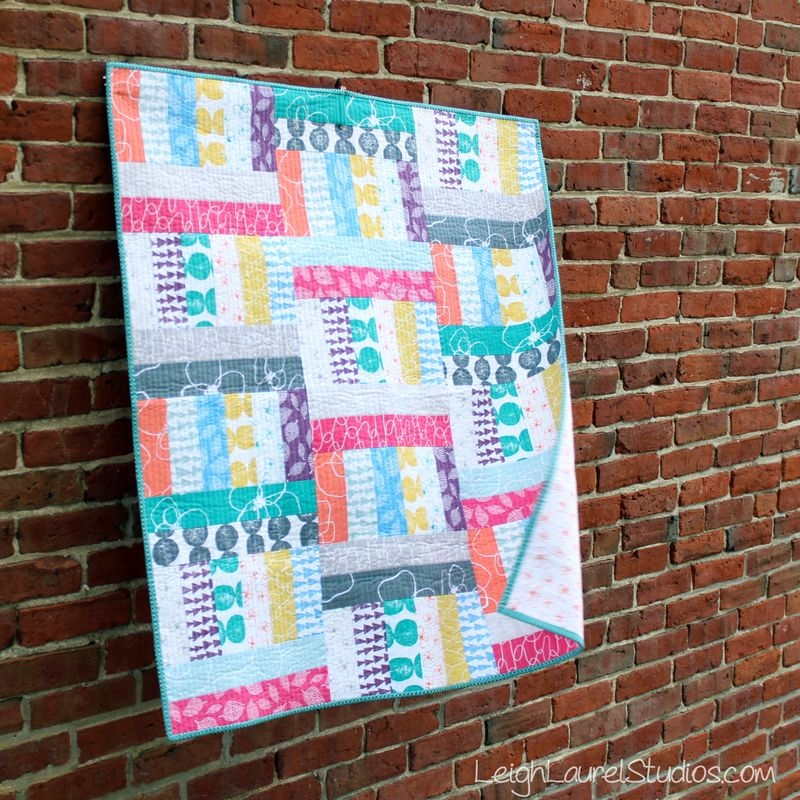 friday spotlight karins jelly roll ba quiltxs two Elegant Jelly Roll Baby Quilt Ideas Inspirations