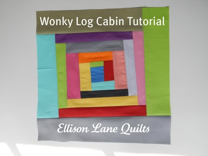 i think i am going to go for this oneno pattern just Elegant Wonky Log Cabin Quilt Pattern