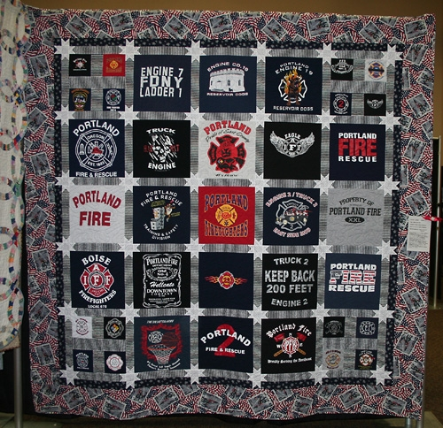 ideas for firefighter quilt quiltingboard forums Cool Firefighter Quilt Patterns