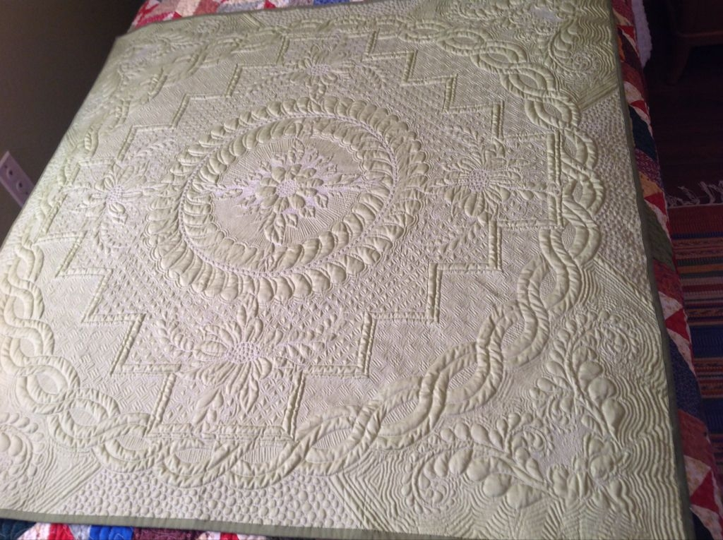 if youre sick of squares its time to meet the wholecloth Interesting Wholecloth Quilt Patterns Gallery