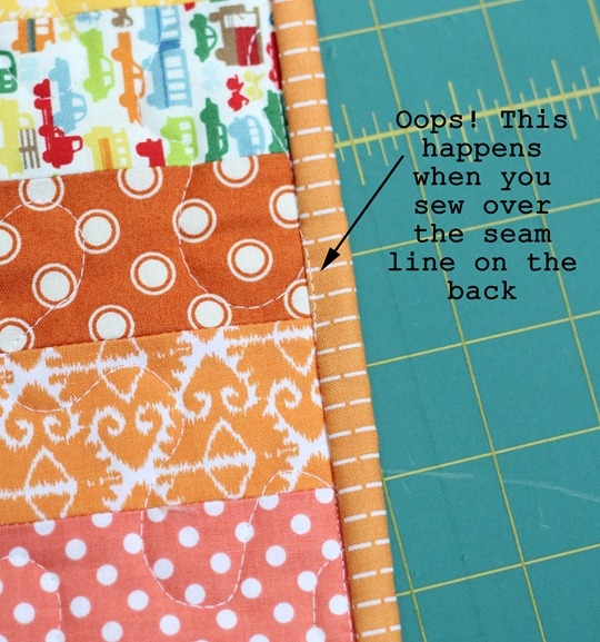 machine binding tutorial cluck cluck sew Elegant Sewing Bias Binding On A Quilt