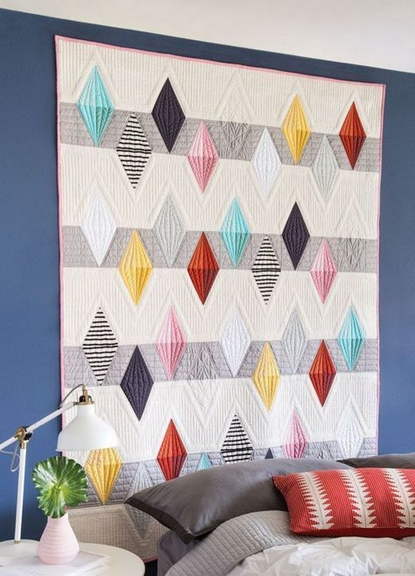 new patchwork trends modern quilt patterns quilts Stylish Modern Quilt Trends Gallery