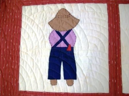 overall sam quilt sunbonnet sue quilts quilt patterns Unique Overall Sam Quilt Pattern