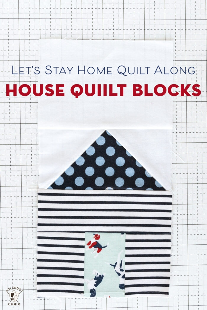 paper pieced house quilt blocks quilt along week 2 polka Interesting House Quilt Block Tutorial Inspirations