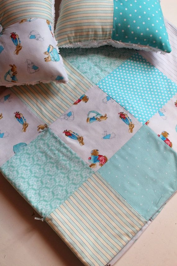 peter rabbit quilt patchwork beatrix scarlettscozycottage Cozy Peter Rabbit Quilt Pattern Inspirations