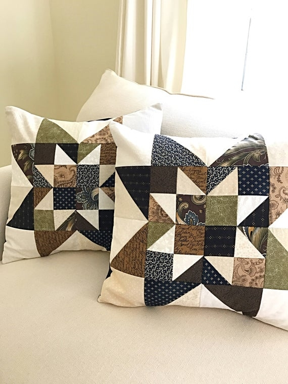 pillow pattern quilt pattern pdf decorative pillow covers pattern and free table runner pattern Elegant Quilt Patterns For Pillows Gallery