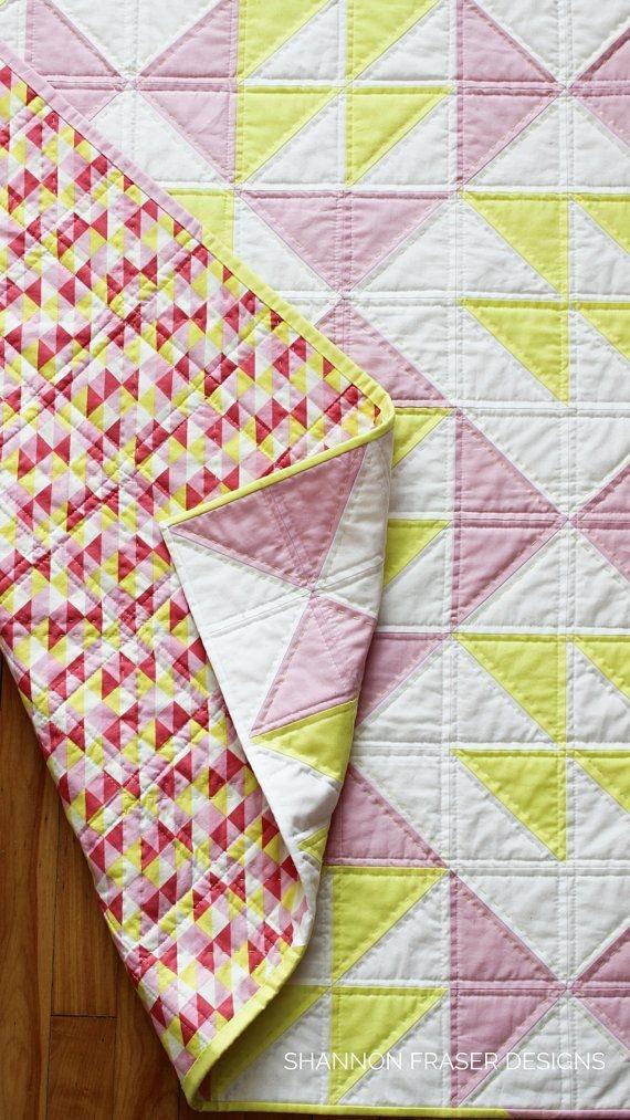 pink lemonade quilt pattern beginners quilt pattern Elegant Pink Lemonade Quilt Pattern