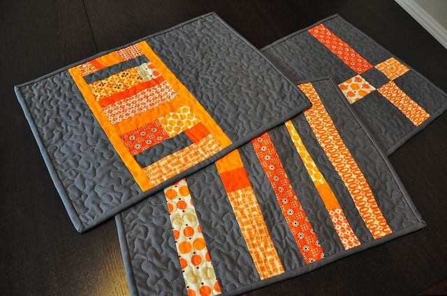 placemats before washing quilts place mats quilted Stylish Modern Quilted Placemat