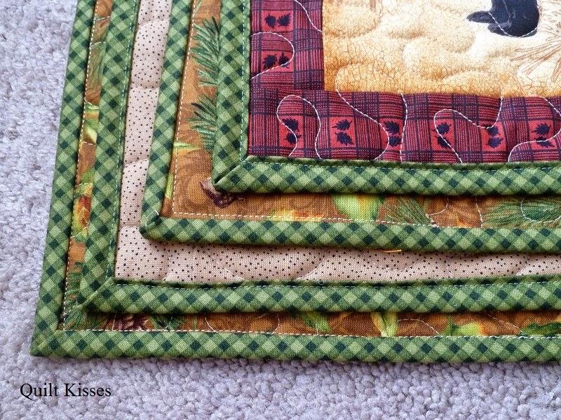 quilt kisses bias binding tutorial Elegant Sewing Bias Binding On A Quilt