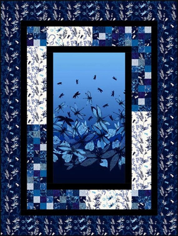 quilt panel patterns asian quilt pattern mountainpeek Cozy Quilt Patterns Using Fabric Panels Gallery