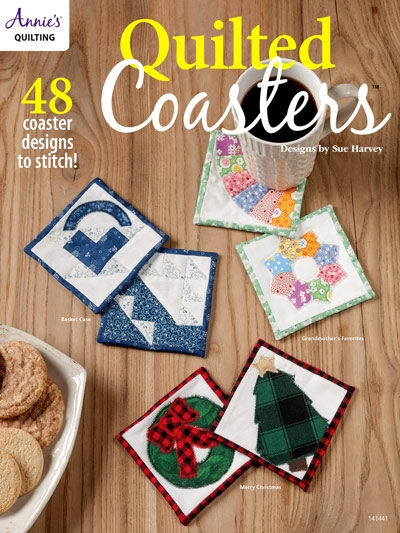 quilted coasters quilt book Interesting Quilted Coasters Pattern Inspirations