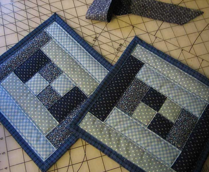 quilted potholder patterns quilted stitching near the Stylish Quilted Pot Holder Pattern