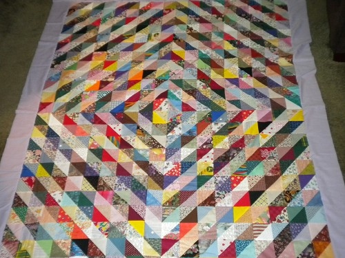 scrappy triangle quilts quilting gallery Cool Quilts With Triangles