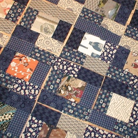 shop for japanese quilt fabric sashiko embroidery taupe Interesting Japanese Quilts Patterns Inspirations