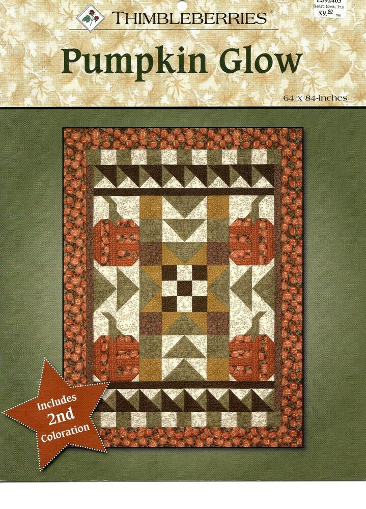 thimbleberries quilt pattern pumpkin glow crafts sewing Modern Thimbleberry Quilt Patterns Inspirations