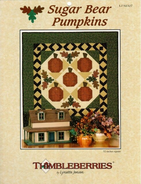 thimbleberries quilt pattern sugar bear pumpkins lynette jensen Modern Thimbleberry Quilt Patterns Inspirations