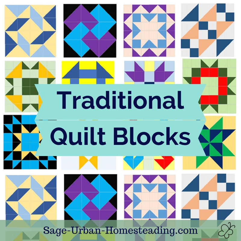 traditional quilt blocks pattern fun Traditional Quilting Patterns