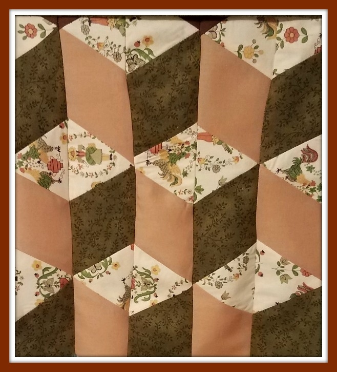 tumbling block quilt pattern free with quilt instructions Cozy Tumbling Blocks Quilt Pattern Template Gallery
