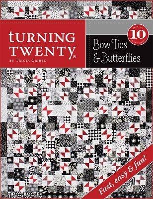 turning twenty quilt patterns and fabrics tricia cribbs Cool Turning Twenty Quilt Pattern