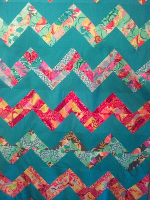 updatenew jelly roll chevron quilt ready 2 make Stylish Chevron Quilt Pattern Using Jelly Roll