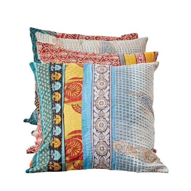 vintage kantha quilt pillow Stylish Vintage Kantha Quilt Gallery