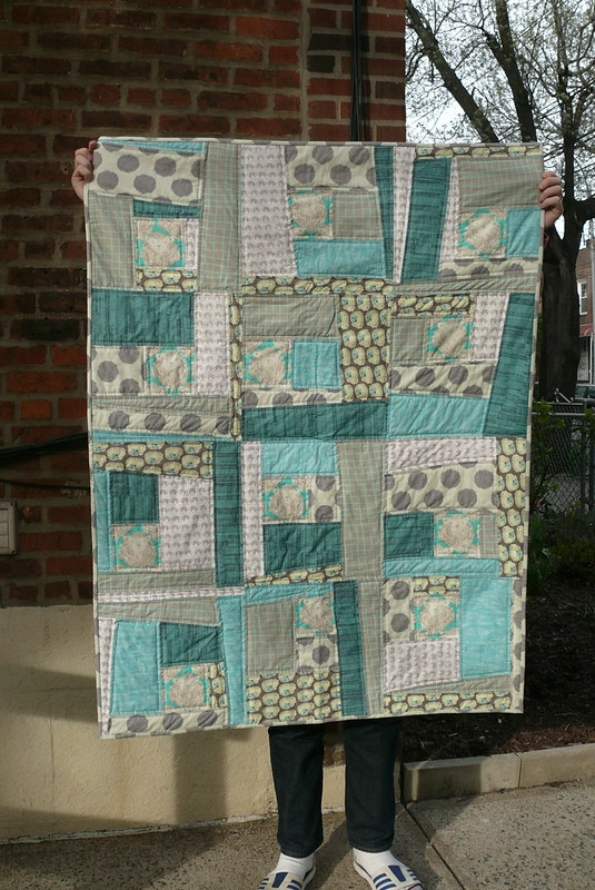 wonky log cabin quilt ginger makes Elegant Wonky Log Cabin Quilt Pattern