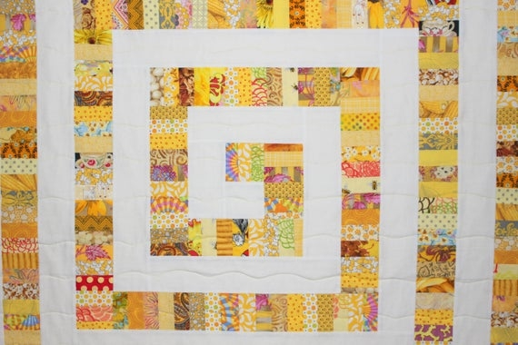 yellow brick road quilt pattern modern quilt pattern string quilt scrap quilt pdf Elegant Yellow Brick Road Quilt Pattern Inspirations