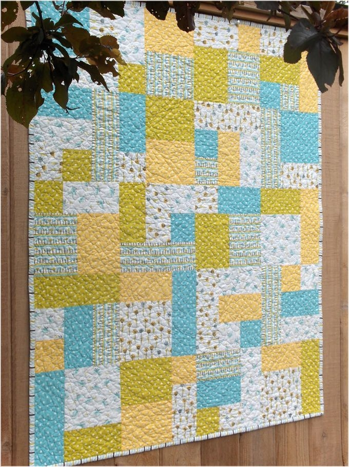yellow brick road quilt pattern tutorial fat quarters ba Elegant Yellow Brick Road Quilt Pattern Inspirations