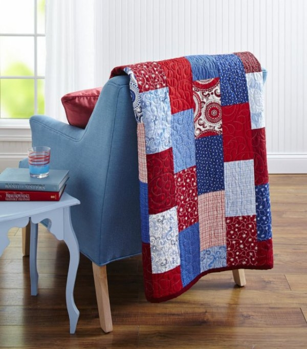 your favorite patterns from 2016 allpeoplequilt Cozy Red White And Blue Quilt Patterns Gallery