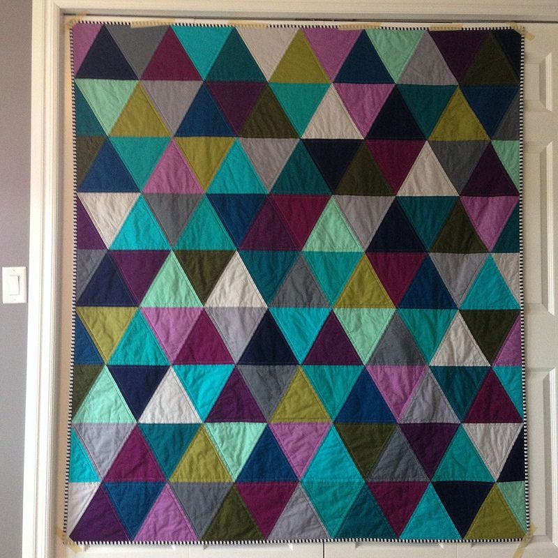10 Elegant 60 degree triangle quilt triangle quilt geometric quilt 11 Cozy Triangle Quilts 60 Degrees