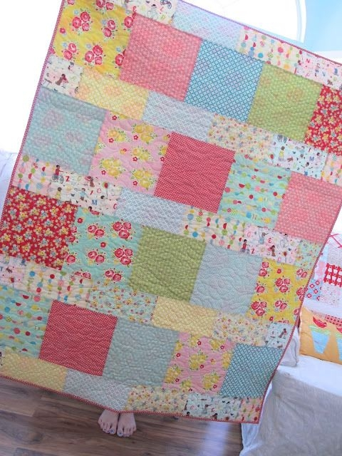 Permalink to 9 Cozy Quick Easy Quilt Patterns