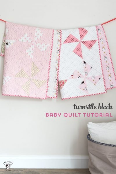 25 free ba quilt patterns tutorials polka dot chair 11 Unique Quilts Patterns For Babies Gallery