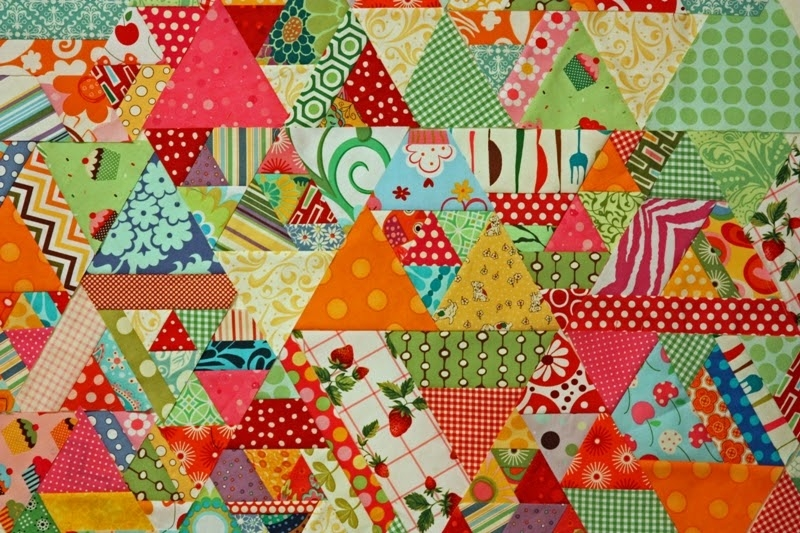 9 Cozy magnolia bay quilts 60 degree quilt tutorial part 1 11 Cozy Triangle Quilts 60 Degrees