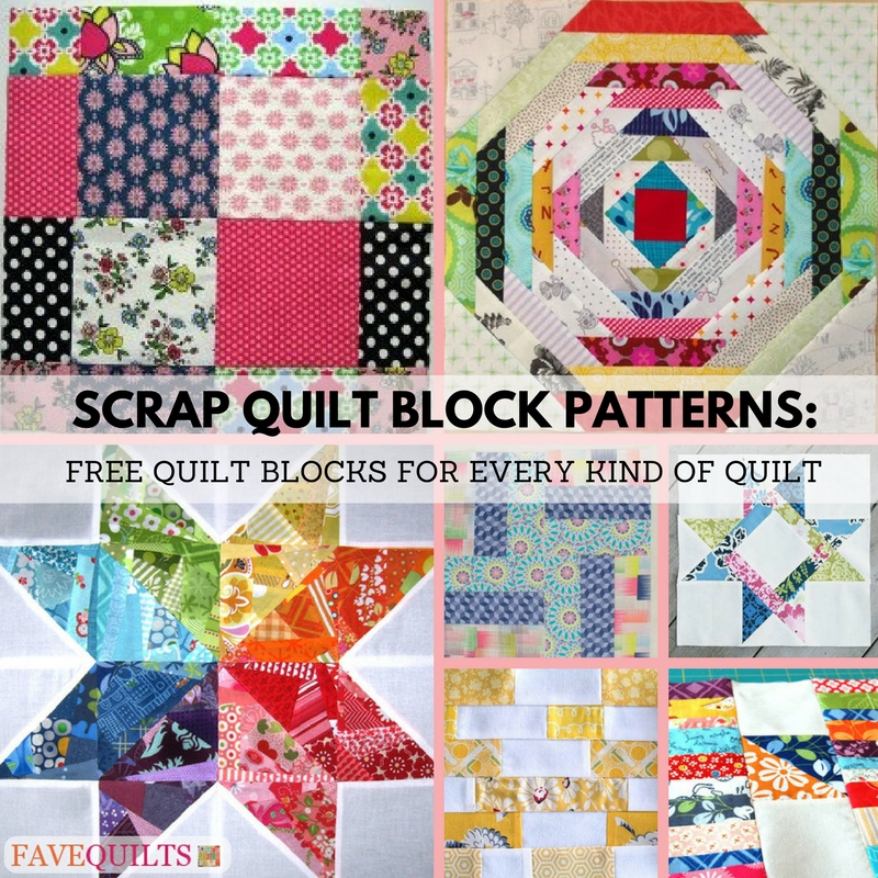9 scrap quilt block patterns free quilt blocks for every Beautiful Free To Download Easy Scrap Quilt Patterns Gallery