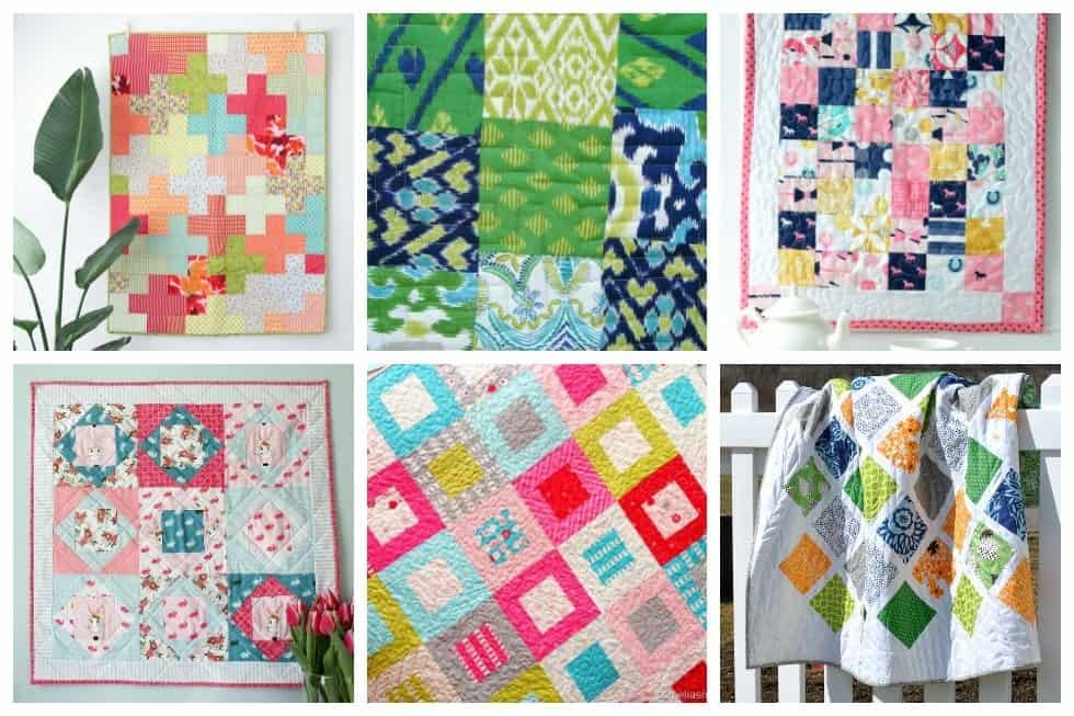Beautiful 18 free quilt block patterns to inspire you ideal me 10   Easy Quilt Square Patterns