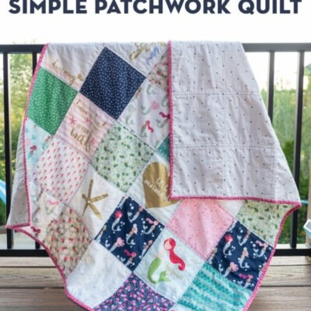 Beautiful 45 easy beginner quilt patterns and free tutorials polka 9 Unique Easy First Quilt Pattern Inspirations