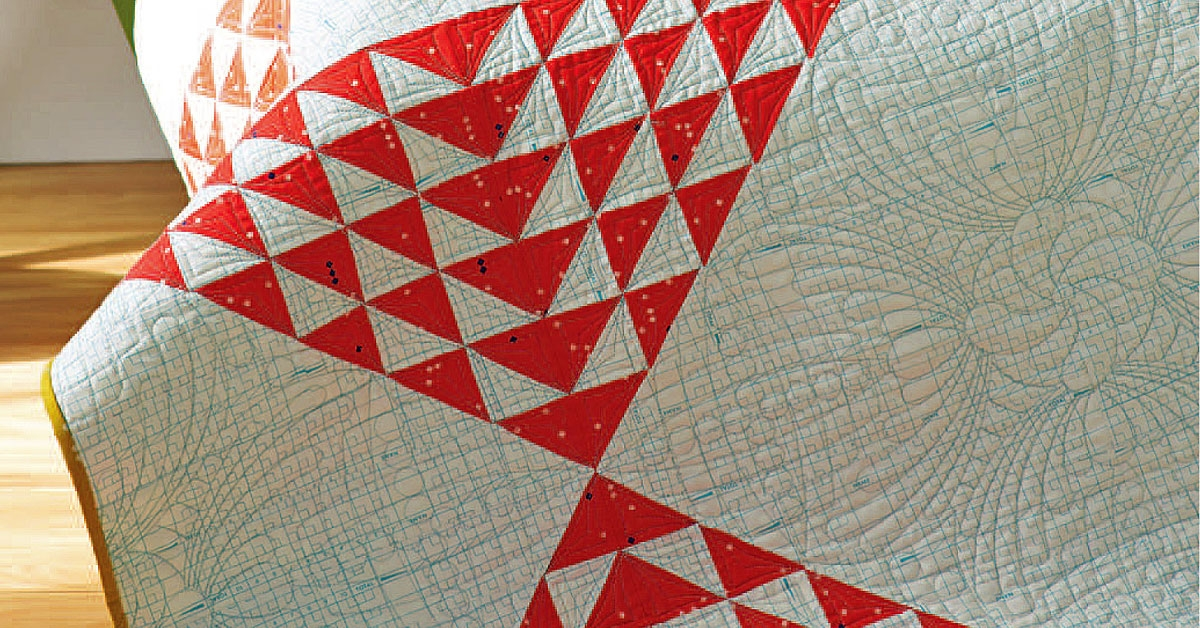 Beautiful 5 modern flying geese quilt designs quilting daily Modern Quilt Pattern Flying Geese