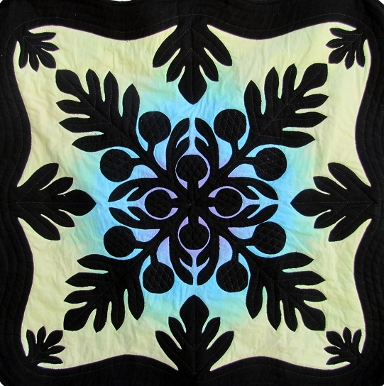 Beautiful breadfruit hawaiian pattern aloha quilt designs 11 New Hawaiian Applique Quilt Patterns