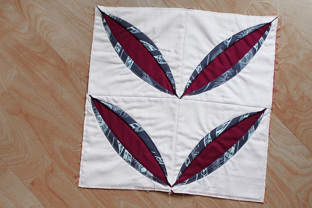 Beautiful cathedral windows qal a quilt block remix tutorial 9 New Cathedral Window Quilt Patterns Inspirations