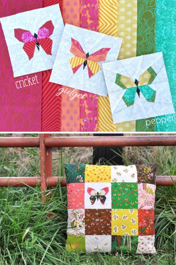 Beautiful charming butterfly quilt block free pattern sewing with 10 Unique Butterfly Quilt Pattern Block