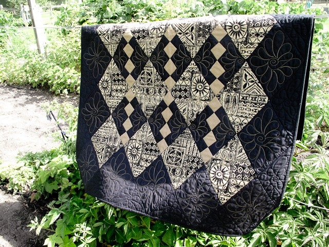 Beautiful checkerboard quilt pattern 9   Checkerboard Quilt Pattern Gallery