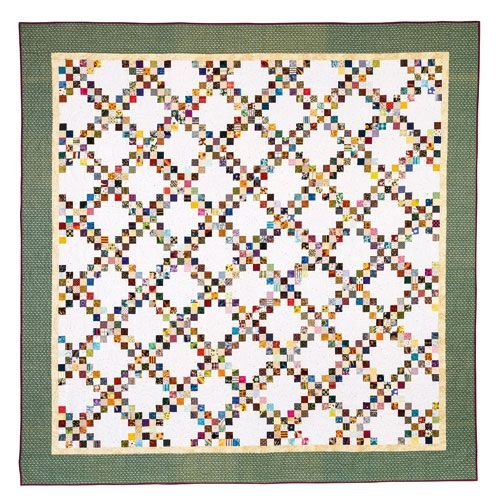 Beautiful connemara double irish chain quilt 11   Irish Chain Quilt Pattern Gallery