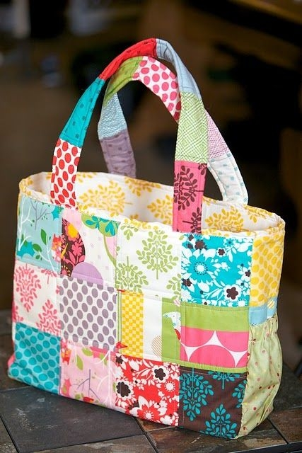 Beautiful cute patchwork diaper bag quilted tote bags patchwork 9 Cozy Quilted Diaper Bag Pattern Gallery