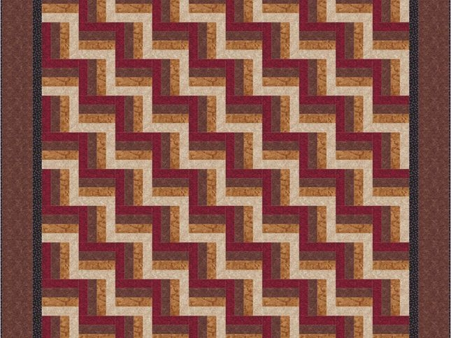 Beautiful easy rail fence bed quilt pattern 10 Cool Fence Rail Quilt Patterns Gallery