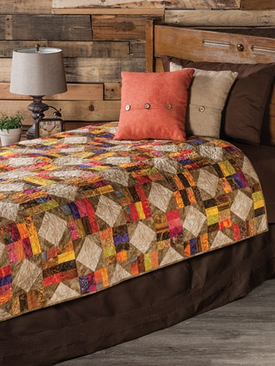 Beautiful exclusively annies quilt designs color me scrappy quilt pattern 10 Modern Colorful Quilt Patterns Inspirations